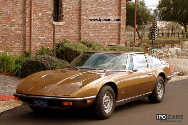Maserati  Indy 1972 Vintage, Classic and Old Cars photo