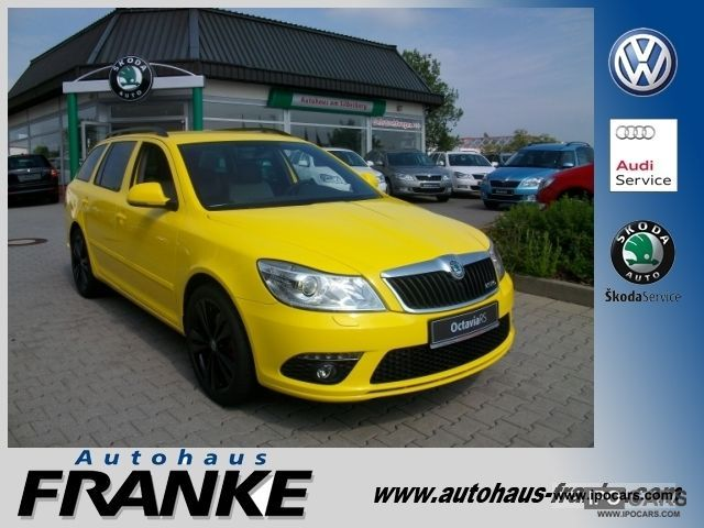 2012 Skoda  Octavia 2.0 TSI 200PS SOUND SYSTEM / BOLERO Estate Car New vehicle photo