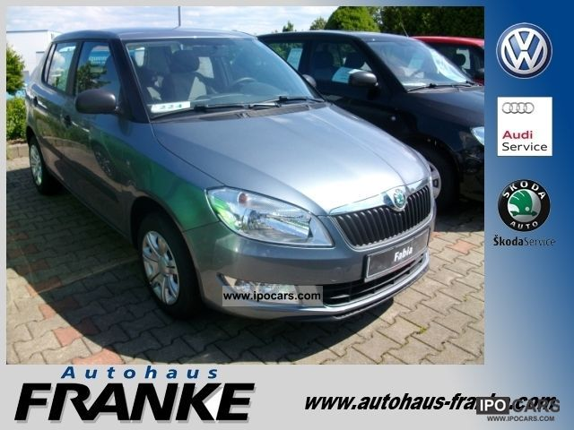 2012 Skoda  Fabia II 1.4 86 HP Cool Edition Limousine New vehicle photo
