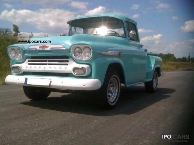 Chevrolet  APACHE VINTAGE 31 H-Max. SUPER TRUCK! 1959 Vintage, Classic and Old Cars photo