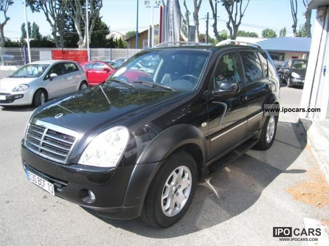 2007 ssangyong rexton ii 270 186 xvt car photo and specs. Black Bedroom Furniture Sets. Home Design Ideas