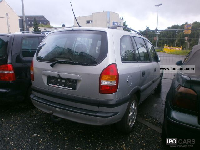 2001 opel zafira 2 0 dti 7sitzer air euro3 car photo and specs. Black Bedroom Furniture Sets. Home Design Ideas