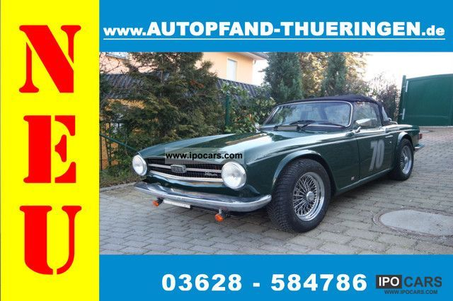 2012 Triumph  TR6 top vintage / reports prev Cabrio / roadster Used vehicle photo