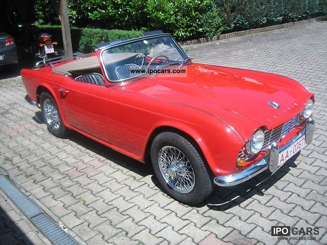 Triumph  TR4 1965 Vintage, Classic and Old Cars photo