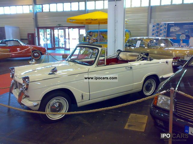 Triumph  HERALD CONVERTIBLE ROADSTER 4 seater LEFT HAND 1966 Vintage, Classic and Old Cars photo