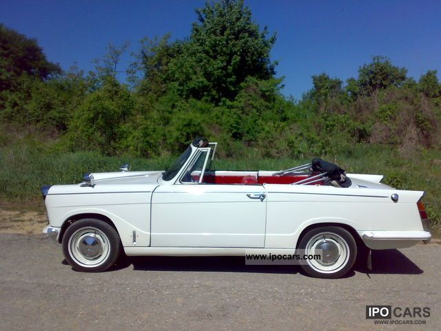 1966 Triumph Herald Convertible Roadster 4 Seater Left