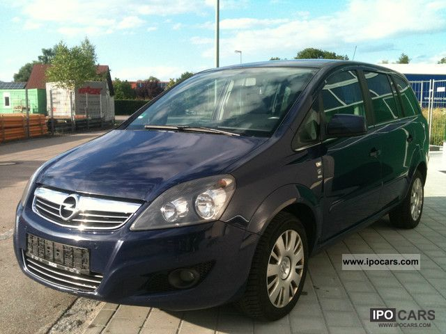 Opel  Zafira 1.6 CNG MOD * 2011 * 7 SEATS * 1 * HAND 2010 Compressed Natural Gas Cars (CNG, methane, CH4) photo