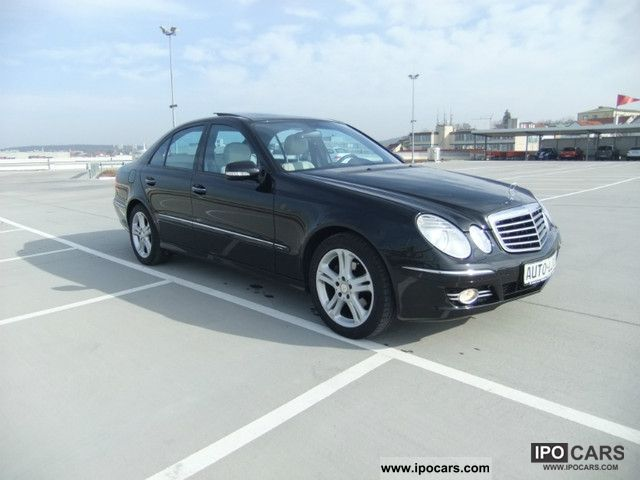 2009 mercedes benz e 280 cdi avantgarde 7g tronic panorama full car photo and specs. Black Bedroom Furniture Sets. Home Design Ideas