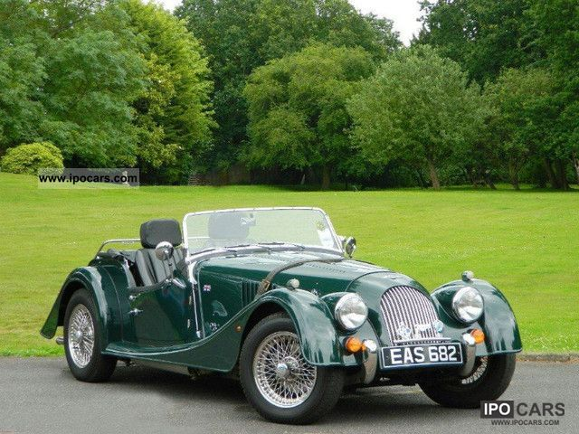 2006 Morgan  4/4 Convertible * 70th Anniversary * Leather RHD Cabrio / roadster Used vehicle photo