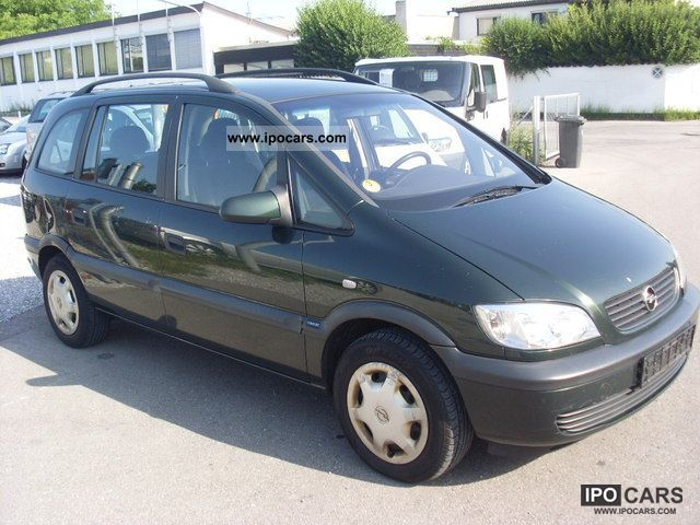 2001 opel zafira 2 0 dti comfort air 3 euro car photo and specs. Black Bedroom Furniture Sets. Home Design Ideas