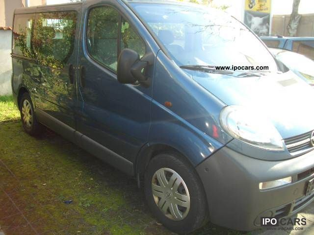 2006 opel vivaro 2 5 cdti l1h1 tour 9sitzer car photo. Black Bedroom Furniture Sets. Home Design Ideas