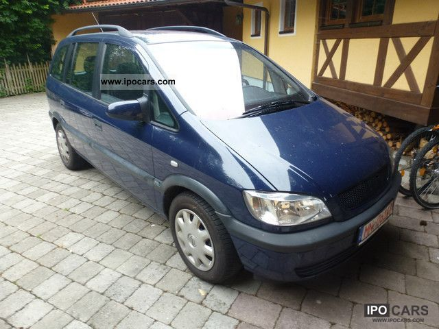 2001 opel zafira 2 0 dti selection car photo and specs. Black Bedroom Furniture Sets. Home Design Ideas