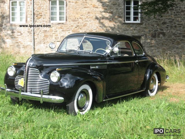 Buick  56 S Coupe 8 Cylinder 1940 Vintage, Classic and Old Cars photo