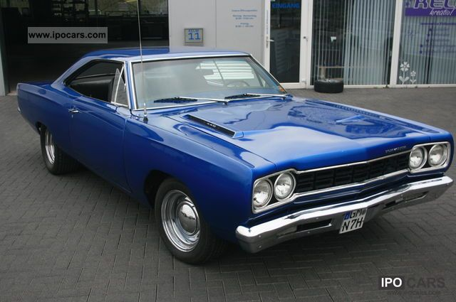 Plymouth  real ROADRUNNER '68, 440 Big Block, H-Marking of 1968 Vintage, Classic and Old Cars photo