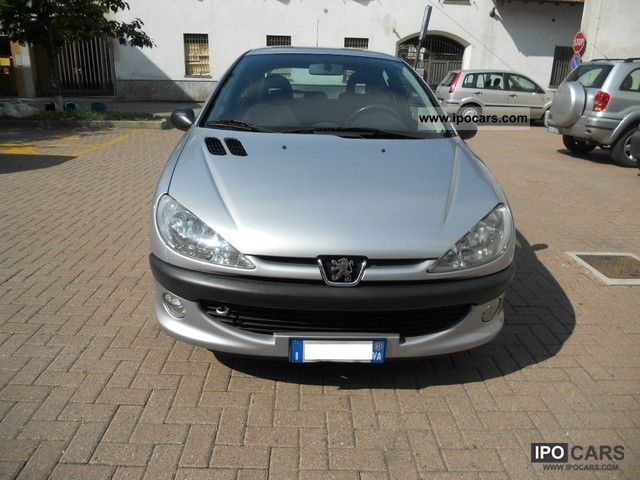 2001 peugeot 206 xs hdi 3pt car photo and specs. Black Bedroom Furniture Sets. Home Design Ideas