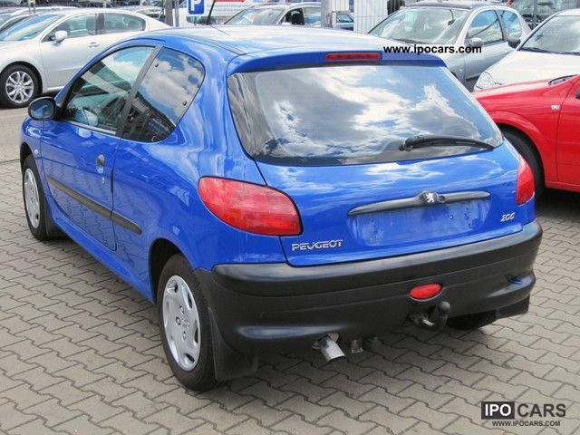 2001 peugeot 206 1 9d 70 t v au to 01 2014 car photo and specs. Black Bedroom Furniture Sets. Home Design Ideas