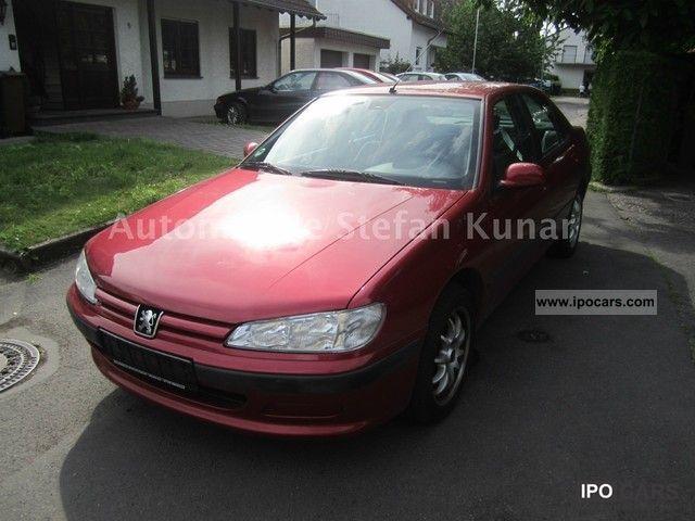 1997 Peugeot  406 110PS/viele new parts / MOT 2013/Alu/M + S! Limousine Used vehicle photo