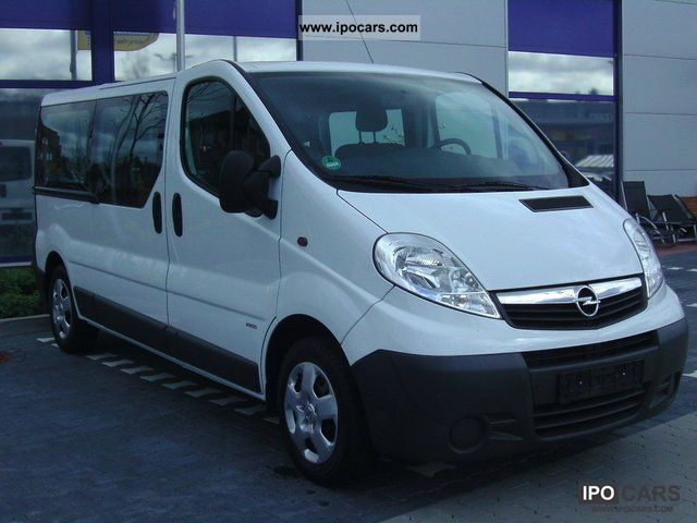2011 opel vivaro 2 5 cdti l2h1 dpf 9 seats car photo. Black Bedroom Furniture Sets. Home Design Ideas