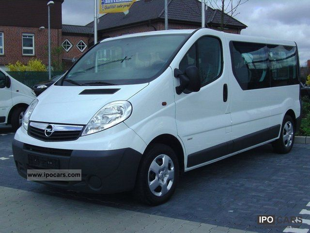 2011 opel vivaro 2 5 cdti l2h1 dpf 9 seats car photo and specs. Black Bedroom Furniture Sets. Home Design Ideas