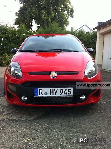 2010 Abarth  Punto Small Car Used vehicle photo
