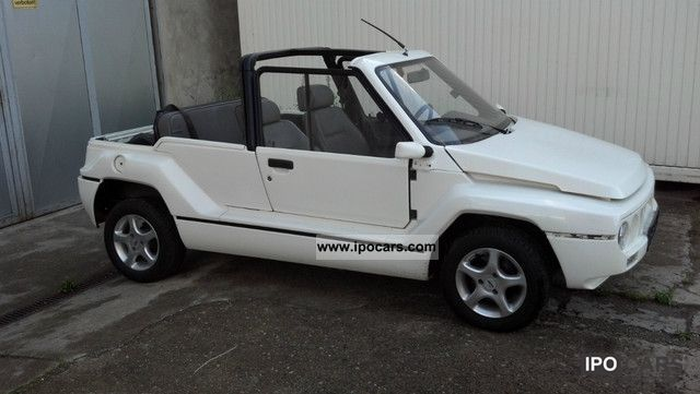 1996 Aixam  MEGA 450 + + + + beach buggy mobile + + + + Lightweight Cabrio / roadster Used vehicle photo