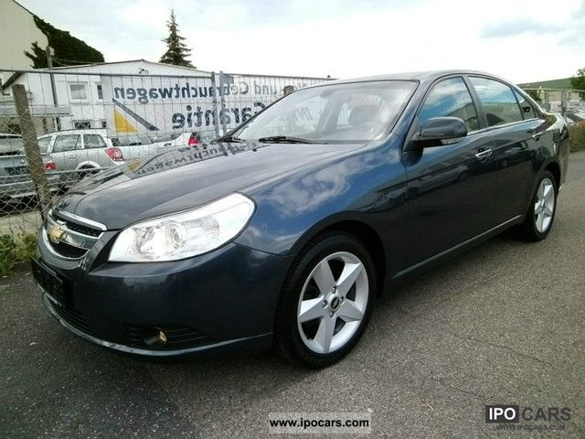 Chevrolet  Epica 2.0 LPG + petrol, leather / 17 \ 2007 Liquefied Petroleum Gas Cars (LPG, GPL, propane) photo