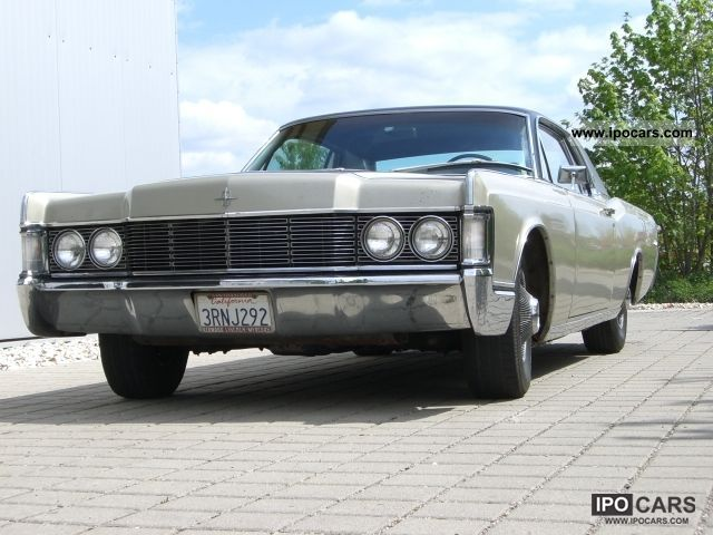 Lincoln  Continental Coupe 462 Big Block 1968 Vintage, Classic and Old Cars photo