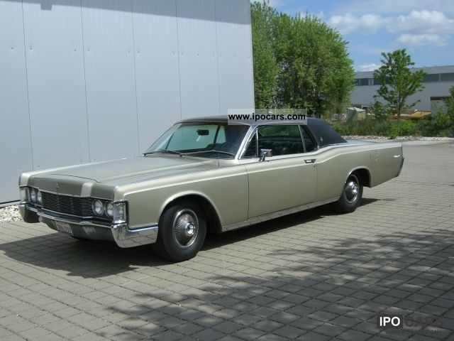 1968 lincoln continental coupe 462 big block car photo. Black Bedroom Furniture Sets. Home Design Ideas