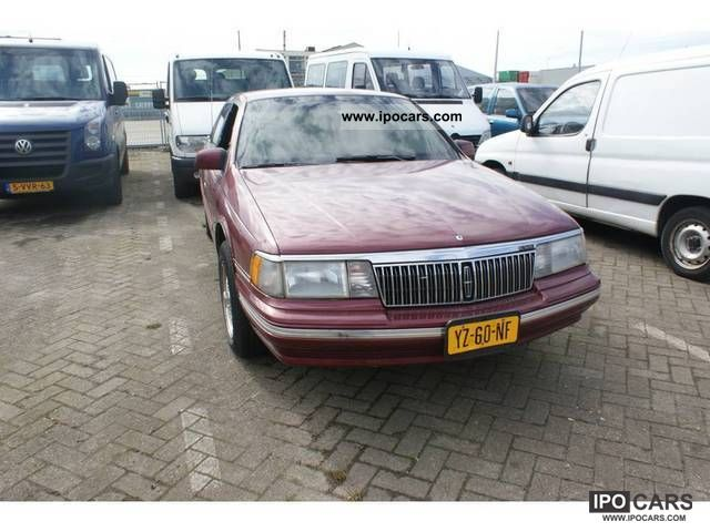1991 Lincoln  Continental 3.8 V6 Limousine Used vehicle photo