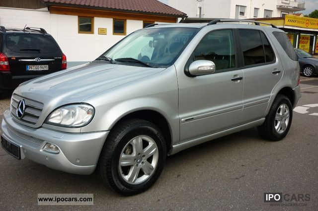 2004 mercedes benz ml 400 cdi final edition full green. Black Bedroom Furniture Sets. Home Design Ideas