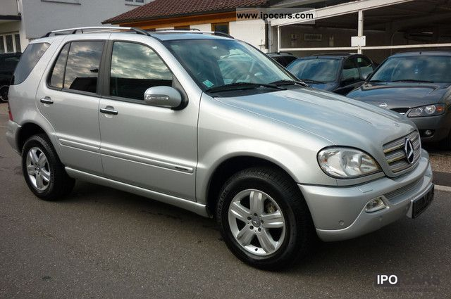 2004 mercedes benz ml 400 cdi final edition full green plaket car photo and specs. Black Bedroom Furniture Sets. Home Design Ideas