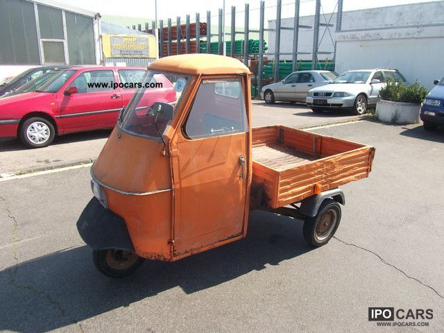 Piaggio  APE vintage flatbed 1971 Vintage, Classic and Old Cars photo