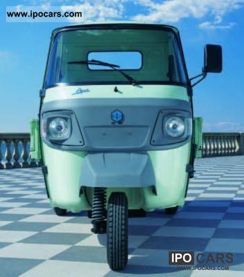 2012 Piaggio  APE Classic Diesel Off-road Vehicle/Pickup Truck New vehicle photo