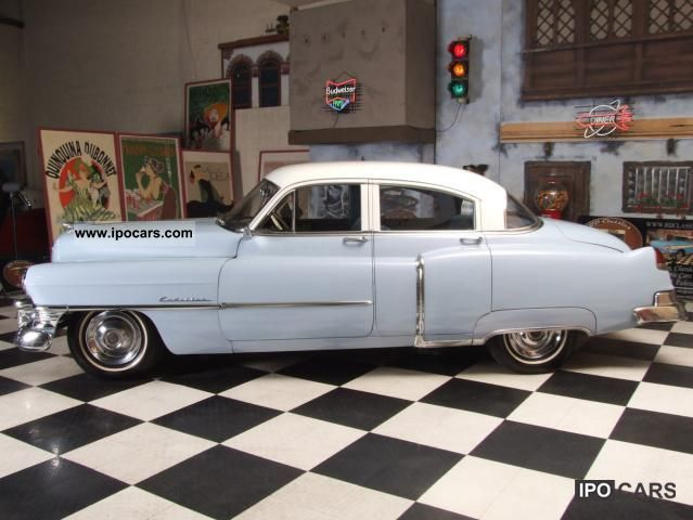 1950 Cadillac Series 61 Car Photo And Specs