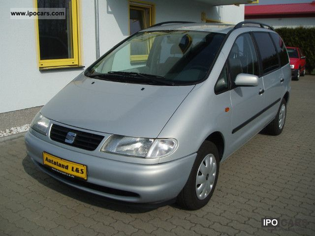 2000 Seat Alhambra 2 0i Comfort 7 Seats Air 1 Hand