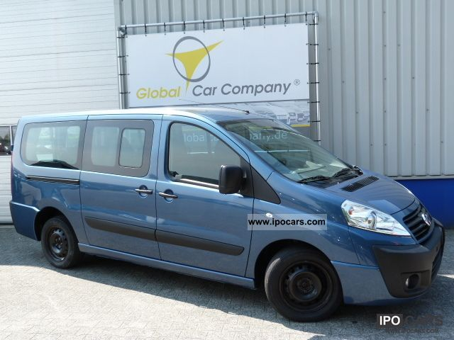 2009 Fiat  SCUDO 2.0JTDm AIR, 9-SEATER, EL.PAKET Estate Car Used vehicle photo