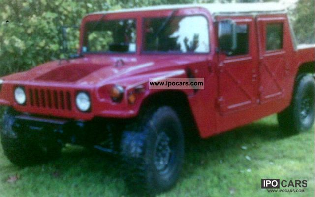 1986 Hummer  H1 Off-road Vehicle/Pickup Truck Used vehicle photo