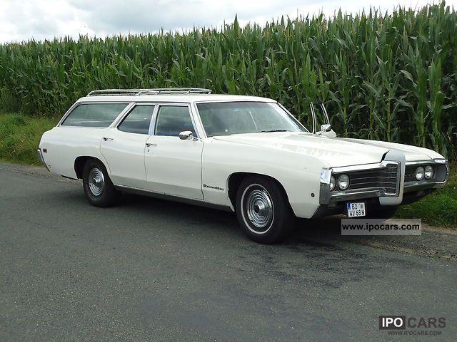 1968 Pontiac Safari Executive Car Photo And Specs