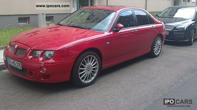 MG  ZT 190 V6 with LPG 2001 Liquefied Petroleum Gas Cars (LPG, GPL, propane) photo