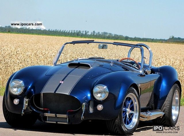Cobra  427 Shelby 7.0 liter 510 DIN horsepower ROUSH 1965 Vintage, Classic and Old Cars photo