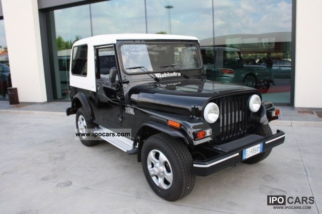 2012 Mahindra  JEEP Jeep THAR 5.2 CRDE N1 CON 4WD HARD TOP Other New vehicle photo