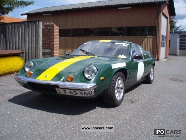 Lotus  1.6 Twin Cam Special Europe 1974 Vintage, Classic and Old Cars photo