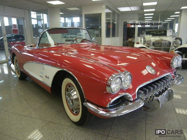 Corvette  c1 convertible 1960 Vintage, Classic and Old Cars photo