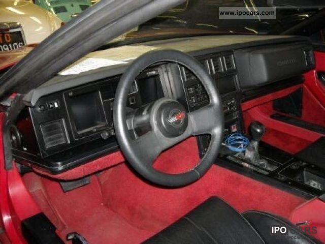 Flex Fuel Vehicles >> 1986 Corvette CHEVROLET CORVETTE C4 C4 - Car Photo and Specs