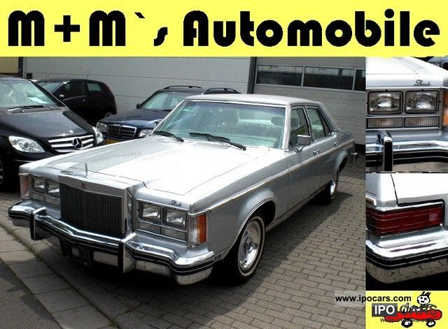Lincoln  Versailles 5.8 V8 / leather cruise control H-plates 1977 Vintage, Classic and Old Cars photo