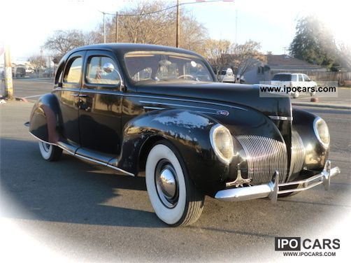 Lincoln  Zypher V12 1939 Vintage, Classic and Old Cars photo