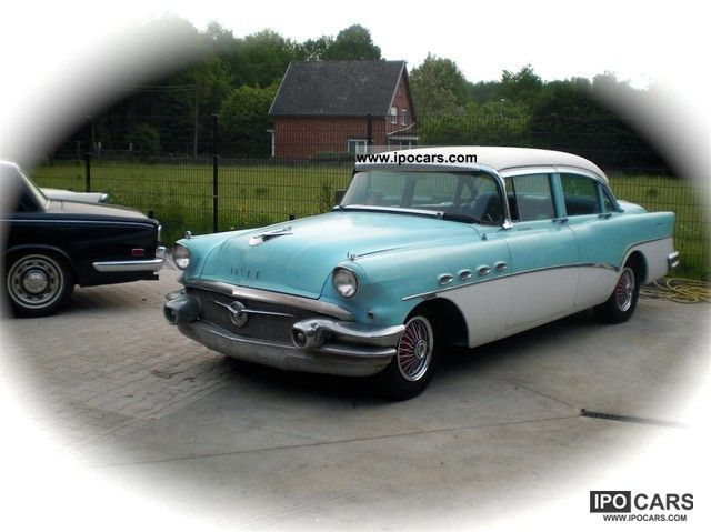 Buick  Roadmaster 1956 Vintage, Classic and Old Cars photo