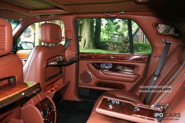 Bentley arnage limousine by bentley mulliner