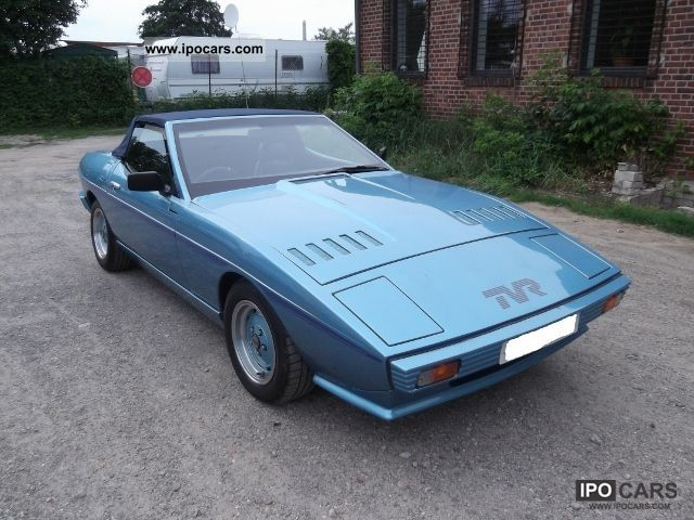 1981 tvr tasmin 280 i with h approval cabrio roadster used vehicle