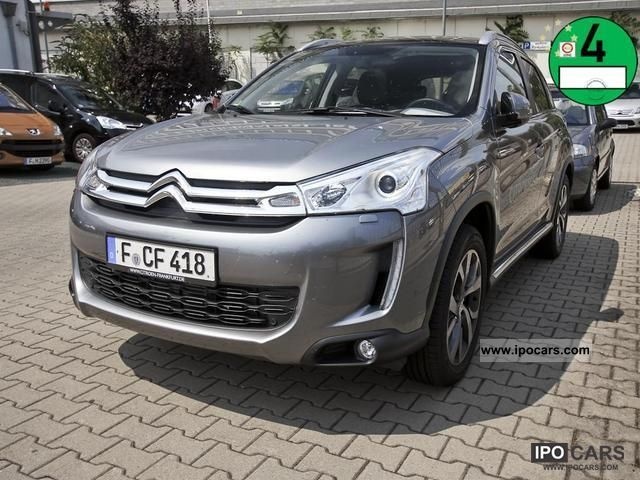 2012 Citroen  C4 HDI 150 Aircross Exclusive 4WD Navi parking aid Off-road Vehicle/Pickup Truck Demonstration Vehicle photo